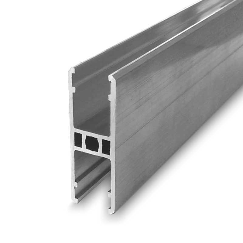 Aluminum profiles and accessories for polycarbonate sheet
