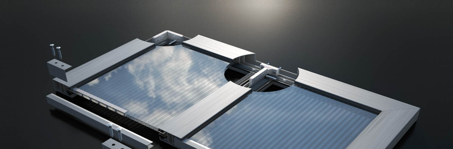182d3b1cf3f Aluminum profiles and accessories for polycarbonate sheet installation